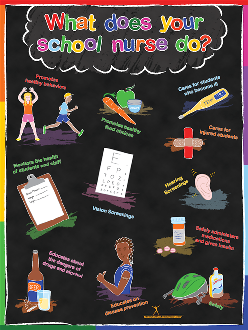 what does your school nurse do?